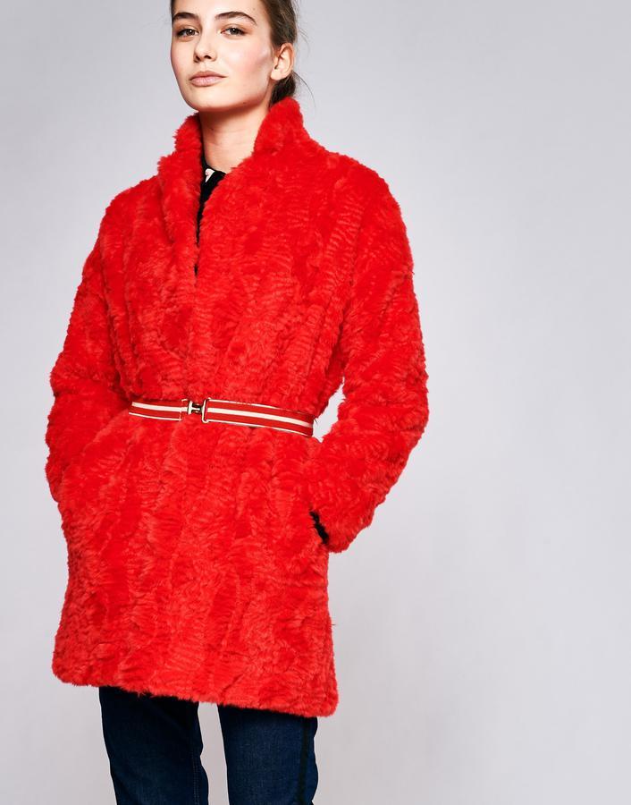Manteau en polyester en forme peignoir Bellerose