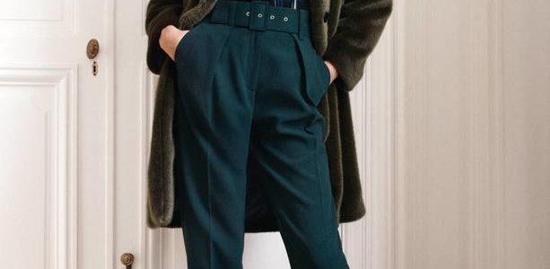 Manteau à manches kimono en fausse fourrure, Claudie Pierlot,