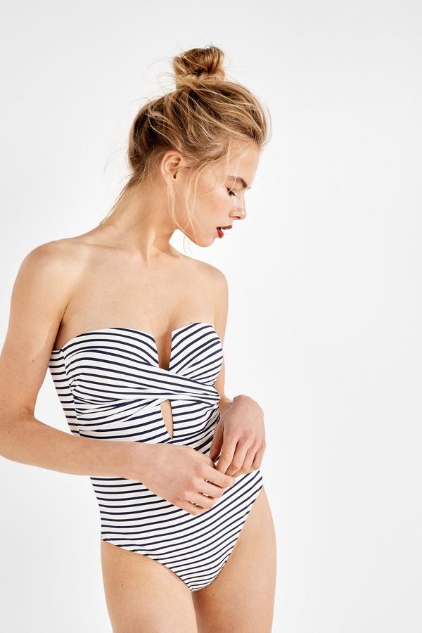 Soixante maillots de bain une pièce à s'offrir sans attendre - Women'secret Maillot de bain strapless