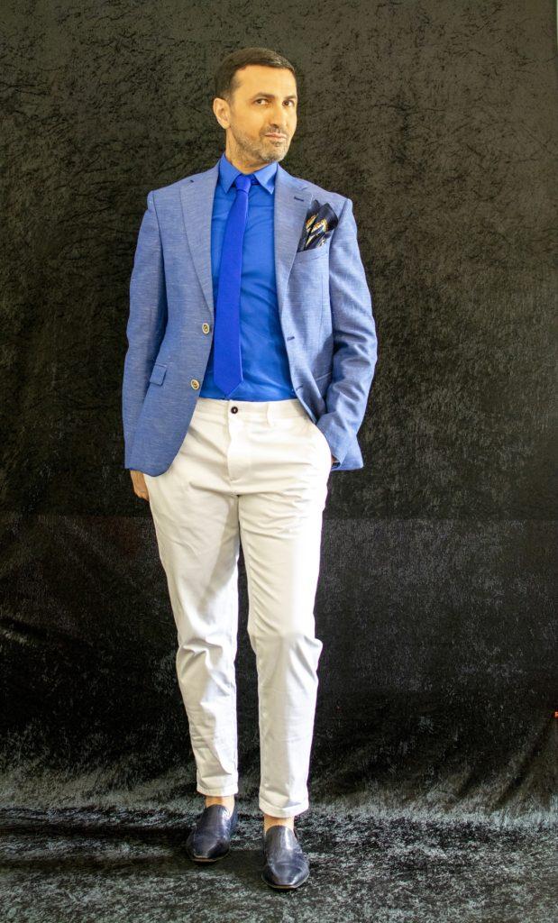 , veillez à bien accorder votre pantalon blanc homme avec d'autres vêtements dont les couleurs vous plaisent et pourraient vous mettre en valeur