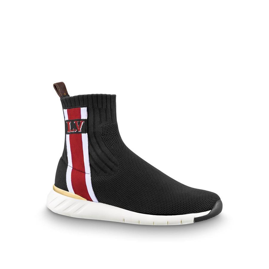 Les chaussures de la rentrée 2018 - Louis Vuitton Sneakers montantes Aftergame, Louis Vuitton