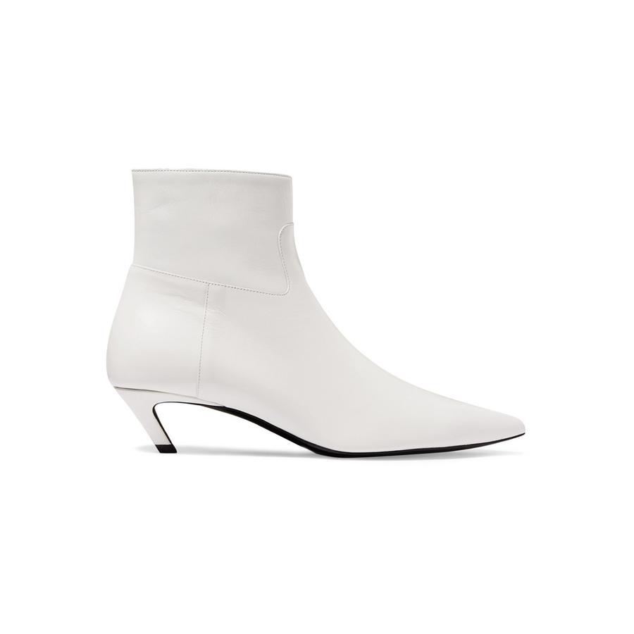 Les chaussures de la rentrée 2018 - Balenciaga Bottines Knife en spandex à bouts extrêmement pointus, Balenciaga