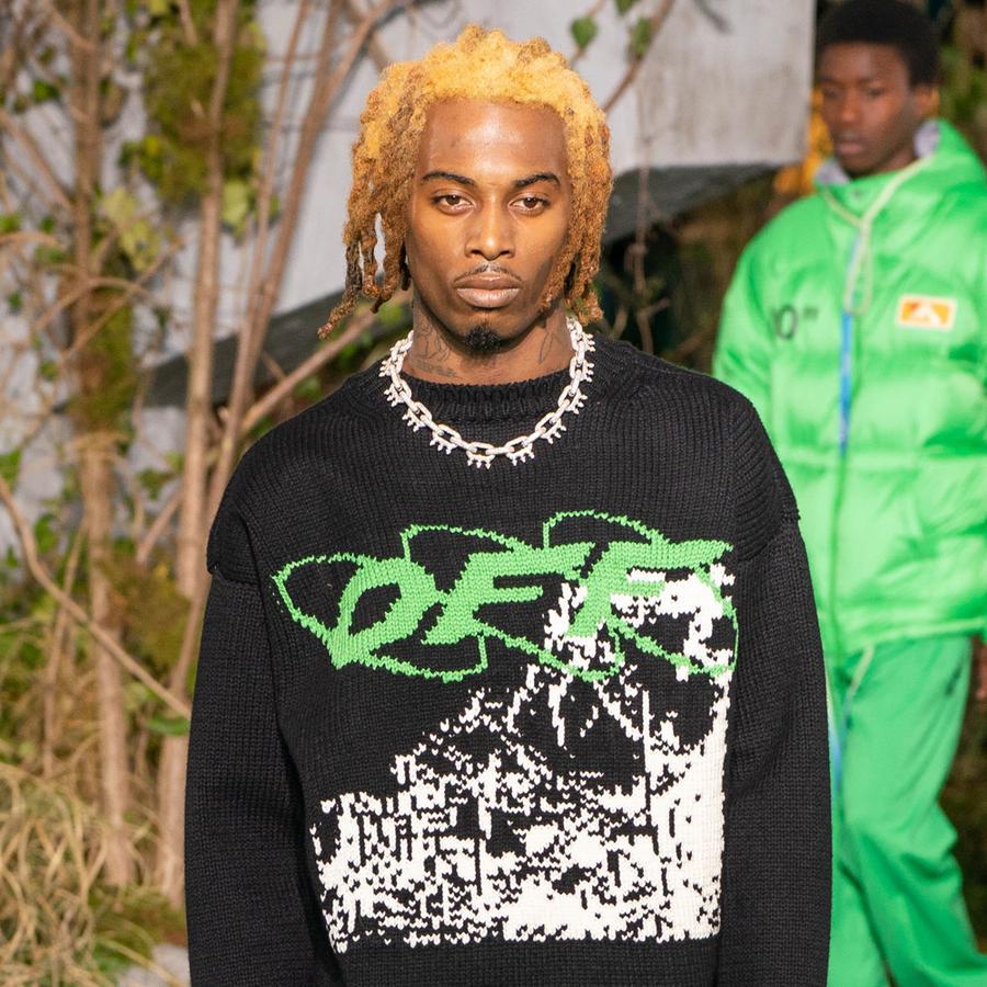 Le collier maillons punk du défilé Off-White homme automne-hiver 2019-2020